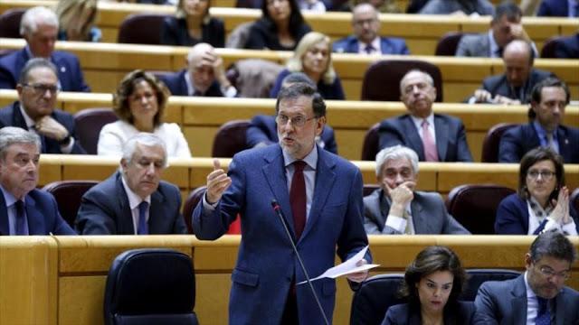 Rajoy pide al Gobierno catalán que tome su oferta de diálogo