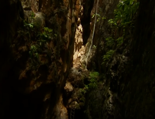 Dragon Breath Cave is located near the mining town of Tsumeb Namibia.
