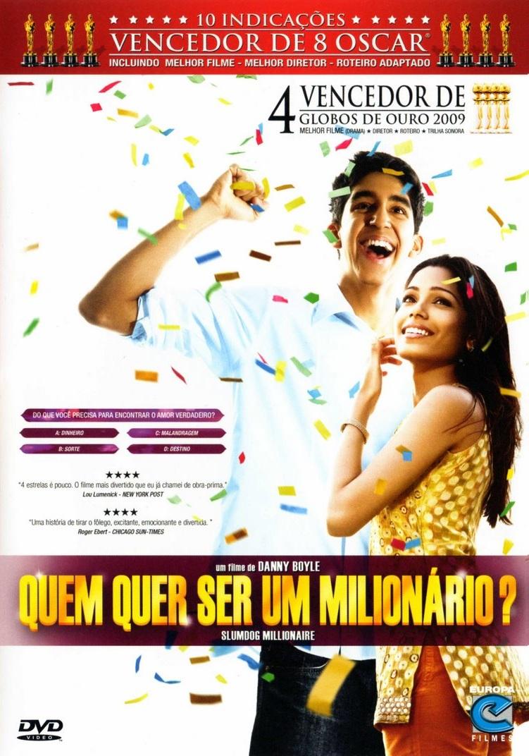 Poster - Quem quer ser um milionário? - Divulgação