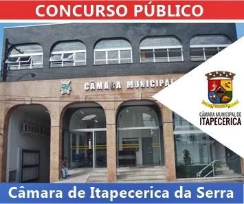Concurso Câmara de Itapecerica da Serra-SP 2018