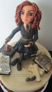 Hermione harry potter fondant