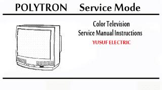 Service Mode TV POLYTRON - DIGITEC Berbagai Type