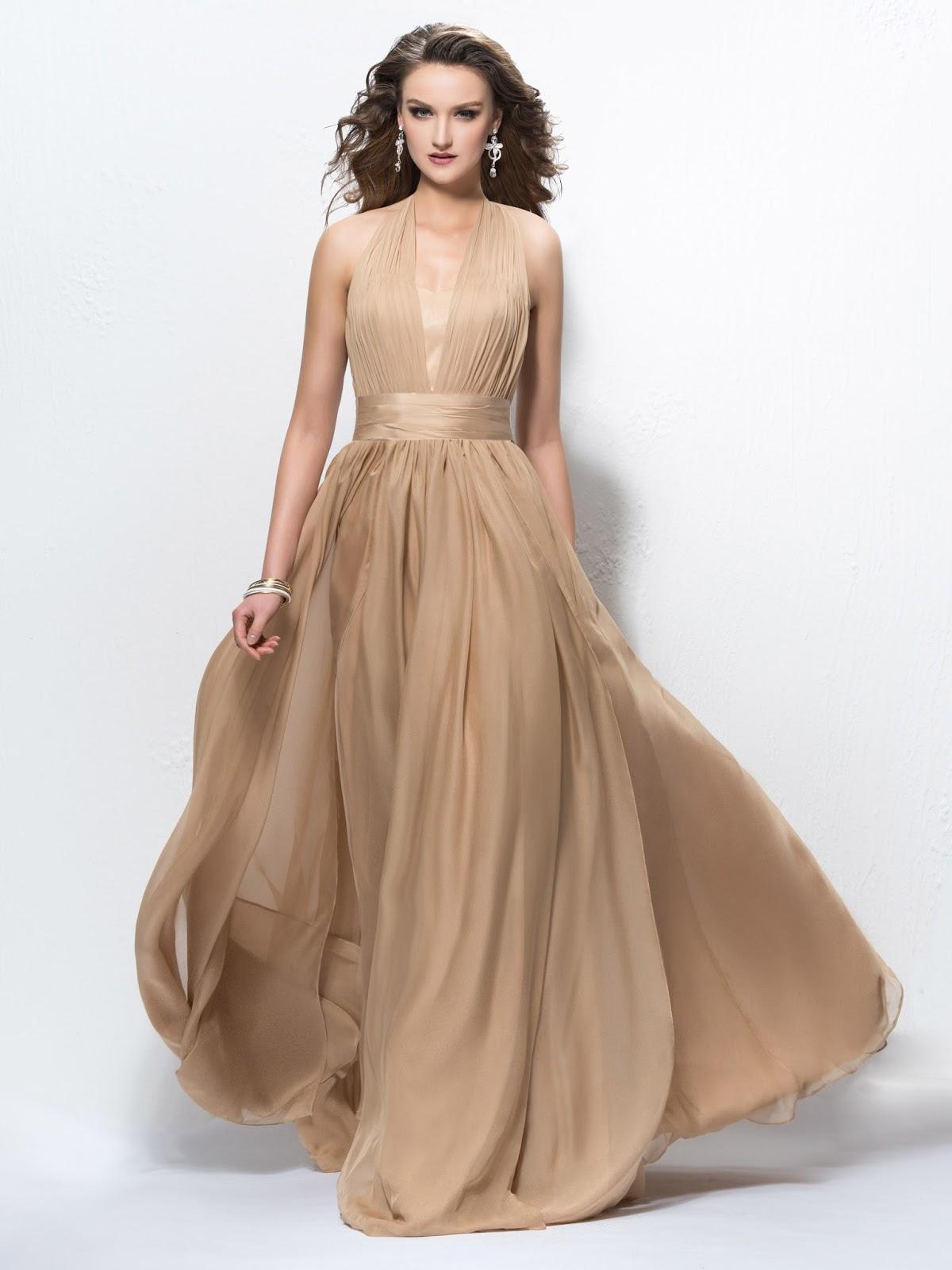 Charming A-Line Halter Sequins Zipper-Up Ruffles Floor Length Designer/Evening Dress, vestido de festa, party dress