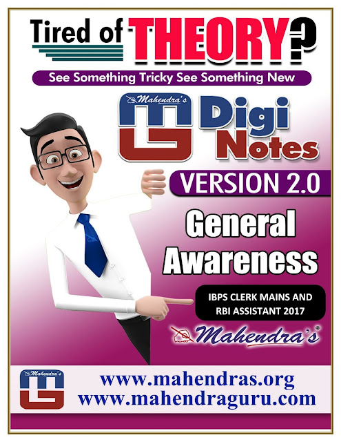 Digi Notes - 2.0 | IBPS Clerk Mains And RBI Assistant  Special |18.12. 2017