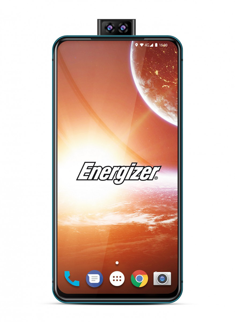 Energizer Power Max P18K Pop with 18,000mAh battery and pop-up camera announced