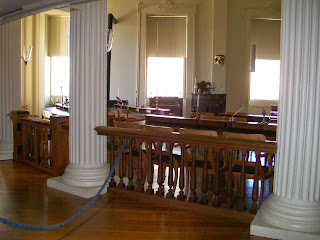 Representatives' Chamber, Old Statehouse, Springfield, Ill.