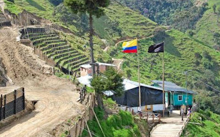 Hace un mes, una pequeña población colombiana se opuso en una consulta popular a la explotación minera