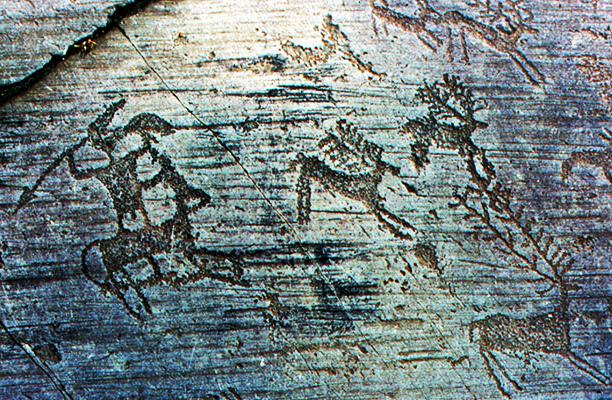 incisioni rupestri valle camonica provincia di Brescia