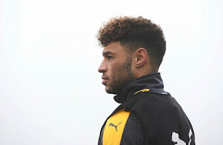 [Photo] Message From Oxlade-Chamberlain Ahead of Etihad Clash