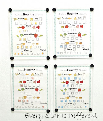 Making healthy choices daily checklist (free printable)