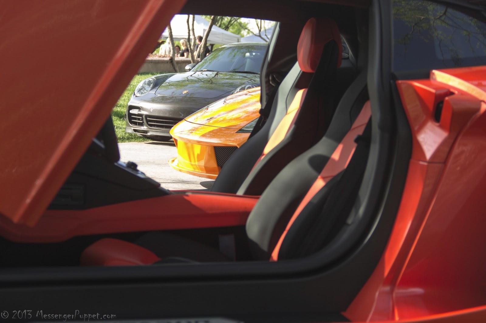 Lamborghinis and Porsche