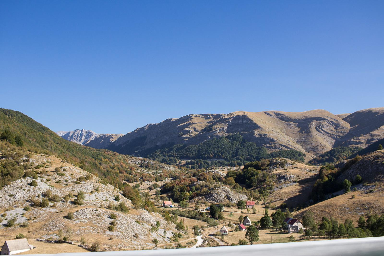 Unser Roadtrip nach Montenegro - Sedlo Pass