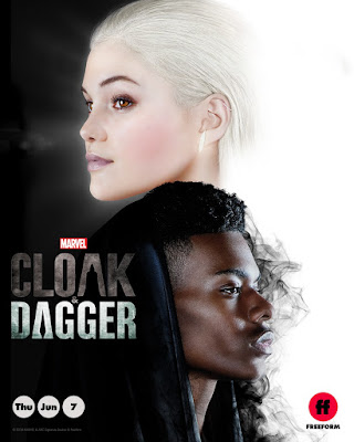 Marvel's Cloak and Dagger Television Series Teaser One Sheet Poster by Freeform