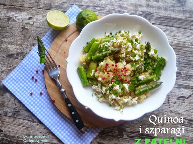 Szparagi i quinoa z patelni - Czytaj więcej »