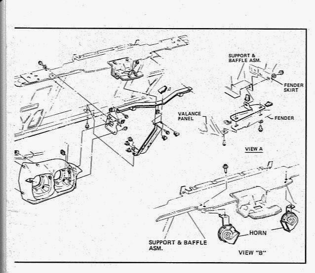 1967 gto horn wiring diagram