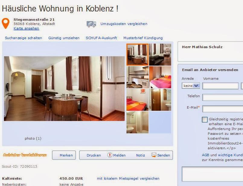 Zimmer Wohnung Koblenz