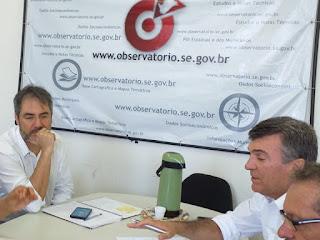 Garibalde participa de reunião para tratar dos limites intermunicipais
