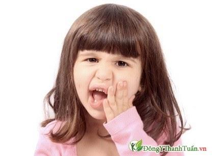 tiết lộ về những nguy hiểm khi trẻ bị sâu răng
