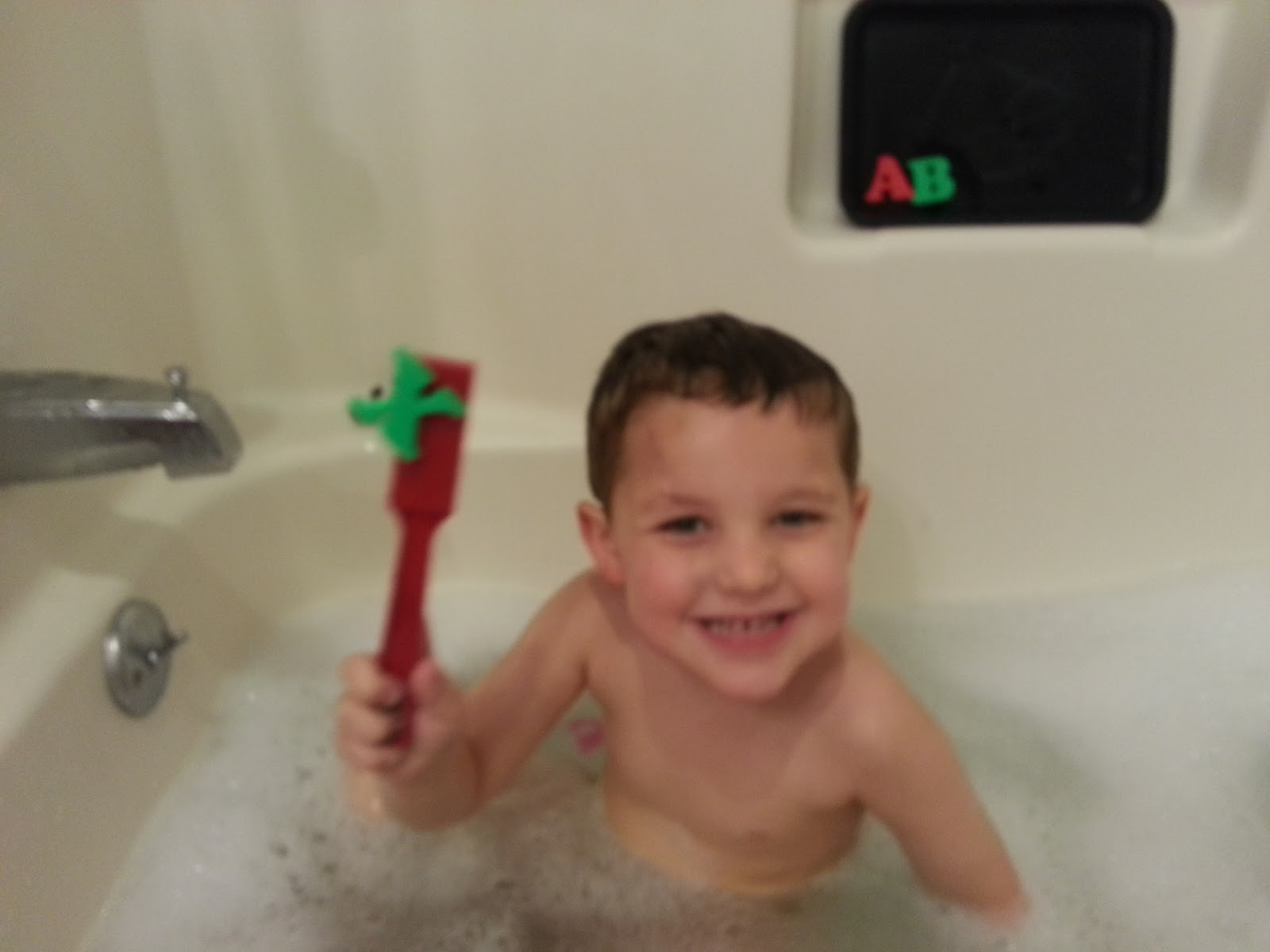 Bath Time Alphabet Scavenger Hunt!!