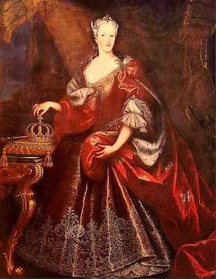 Elisabeth Therese of Lorraine as Queen of Sardinia, 1737