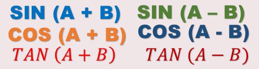Rumus dari perkalian sinus dan cosinus diantaranya: Maretong Rumus Trigonometri Kelas 11