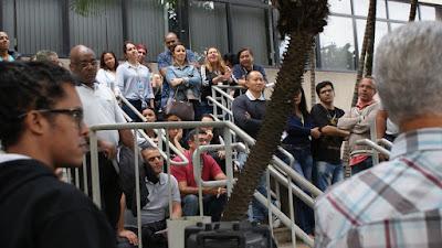 Trabalhadores rejeitam proposta indecorosa apresentada pela Cobra com o apoio da FENADADOS