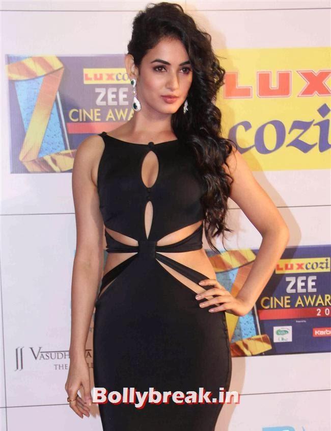 Sonal Chauhan, Zee Cine Awards 2014 Red Carpet Pics