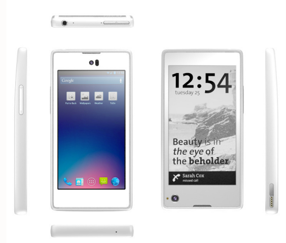 Russian company will launch in late 2013,Yota Devices,dual screen smartphone