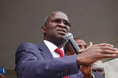 We owe contractors N15bn, yet NASS reduced Lagos/Ibadan Expressway budget to N10bn – Fashola