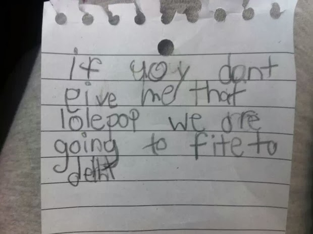 most hilarious kids notes 5
