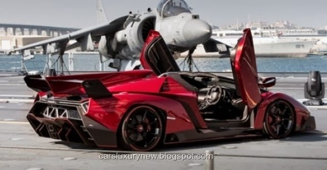 New And Luxury Car Blog 2014 Lamborghini Veneno Roadster