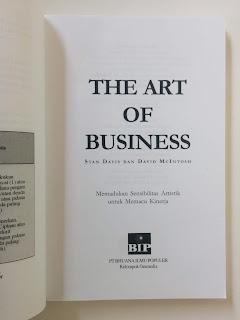 Jual Buku The Art of Business