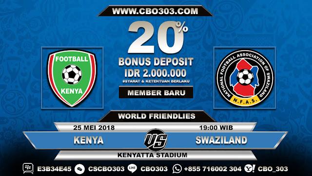 Prediksi Bola Kenya VS Swaziland 25 Mei 2018
