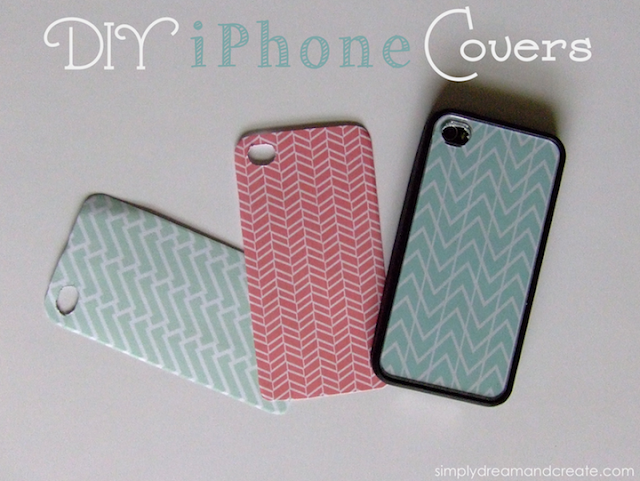diy iphone covers
