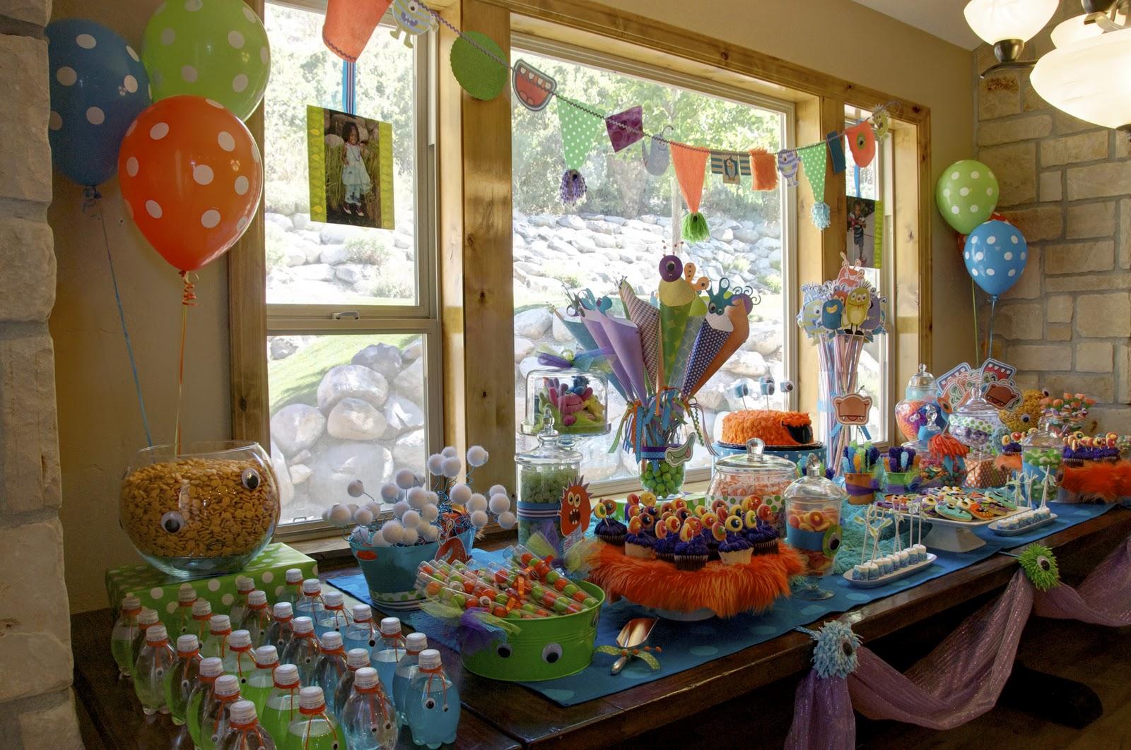Bridgey Widgey Monster Birthday Party