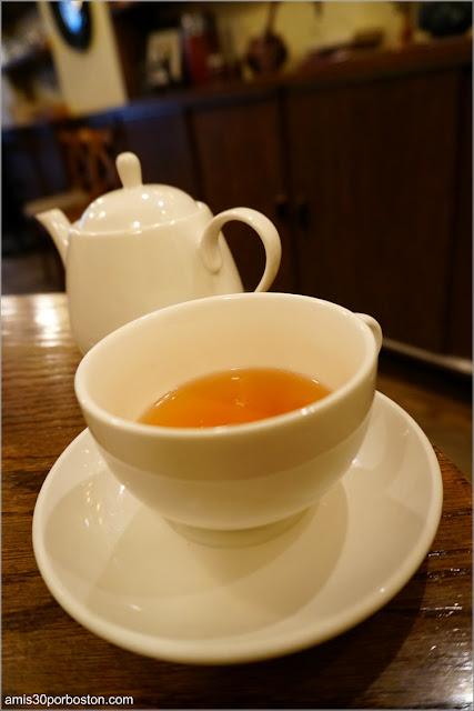 Té Negro de Chocolate con Avellanas del Bosie Tea Parlor en Nueva York