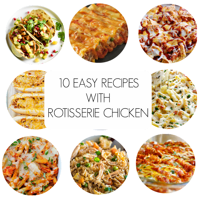 Ioanna's Notebook - 10 easy recipes with rotisserie chicken