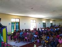 Yonif Raider 321 Kostrad Beri Penyuluhan Hukum Bagi Warga Perbatasan  Timor Leste