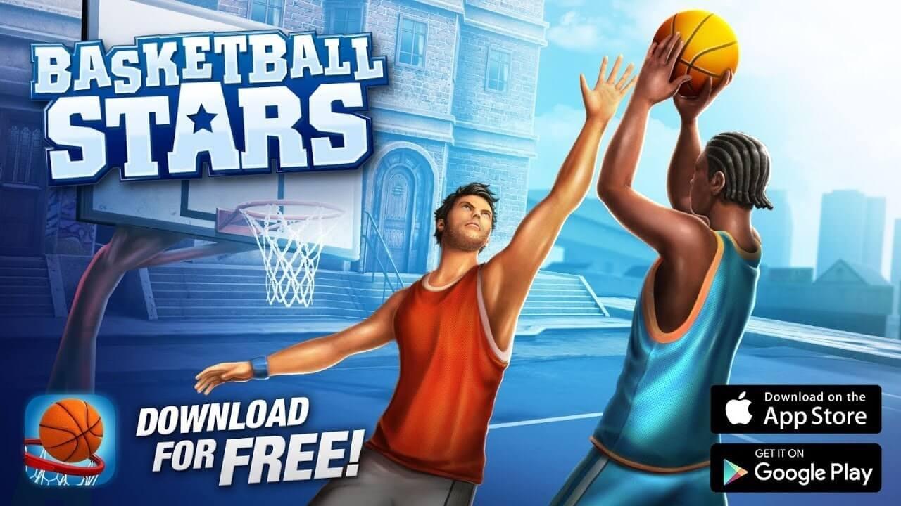 تهكير لعبة basketball stars بدون روت