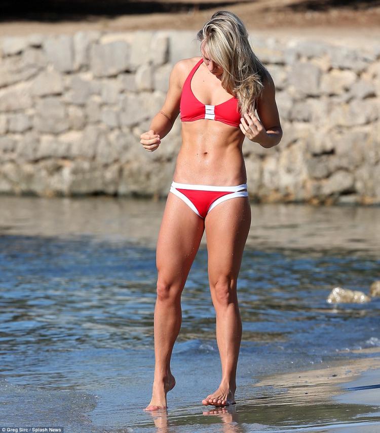 Chloe Madeley a toned body bikini