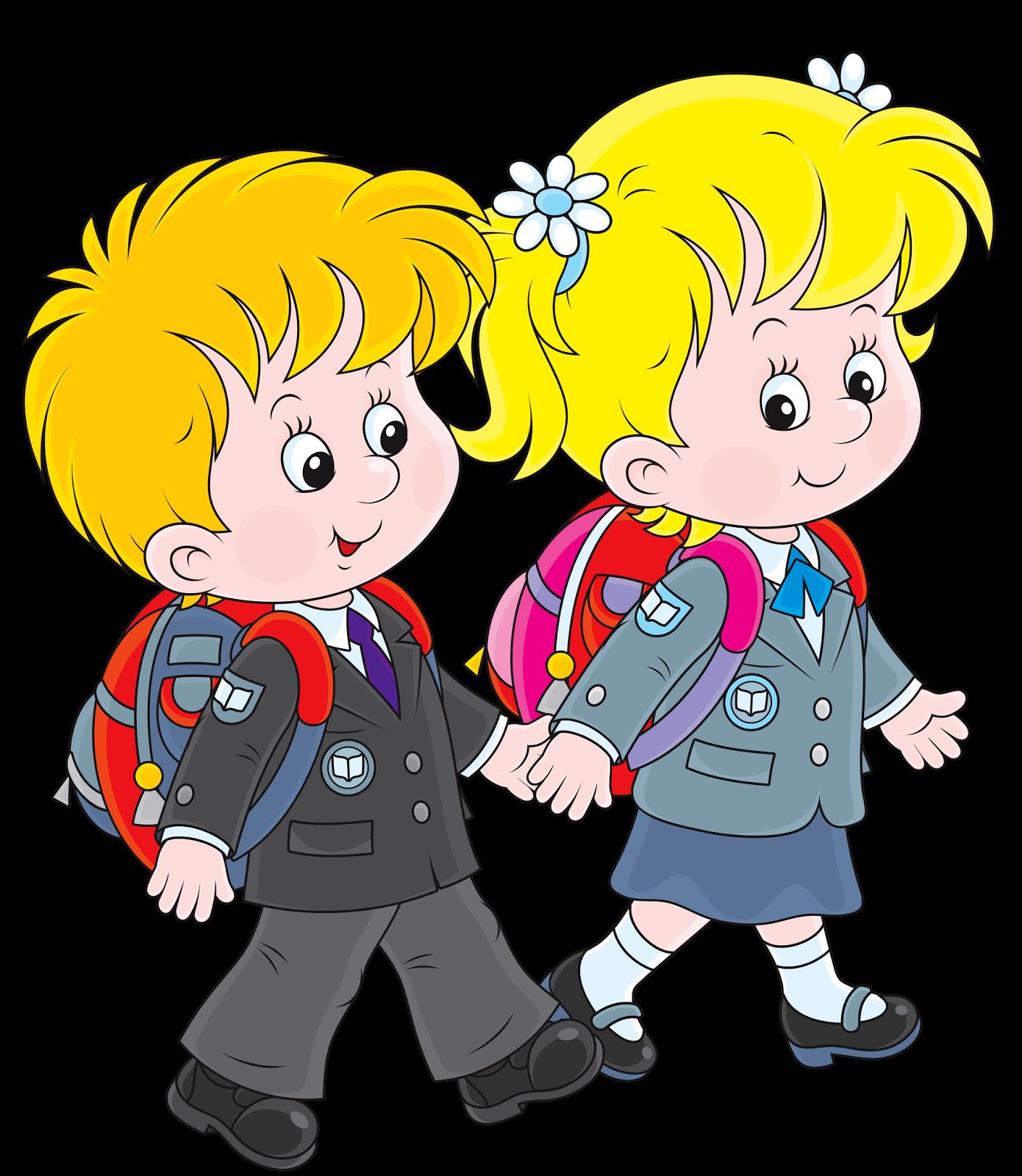 Картинка школьника с портфелем