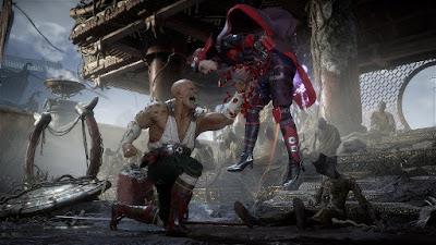 MK11 Baraka vs Skarlet - Mortal Kombat 11