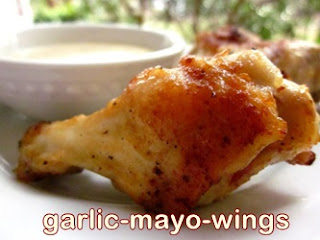 Garlic Mayo Wings