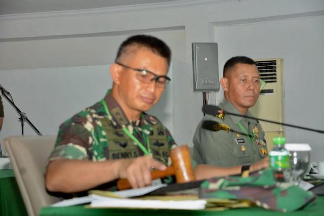 Pilih Calon Prajurit Profesional, Pangdam Pimpin Sidang Calon Tamtama