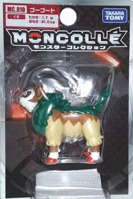 Gogoat figure Takara Tomy Monster Collection MONCOLLE MC series Gogoat