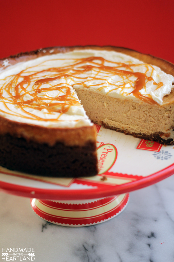 Egg Nog Cheesecake will wow the crowd this holiday season.