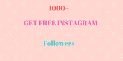 1000+ free Instagram followers