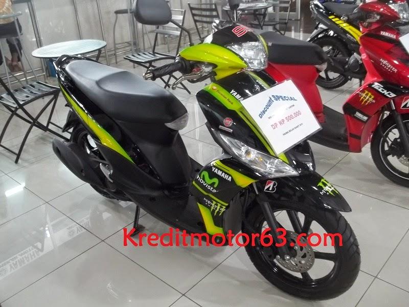 Kredit Motor Yamaha Mio J CW FI Custom