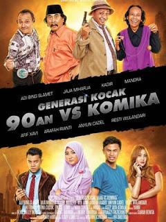 Download Film Generasi Kocak 90an vs Komika (2017) Full Movie