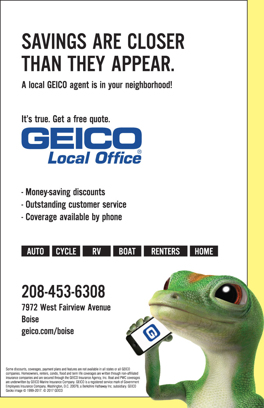 GEICO INSURANCE PHONE NUMBER BOISE